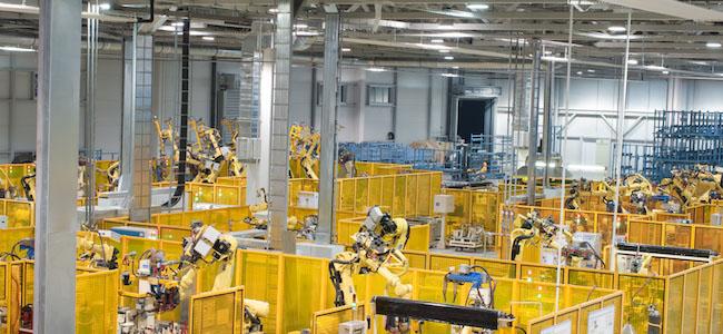 Osvetlenie priemyselných priestorov