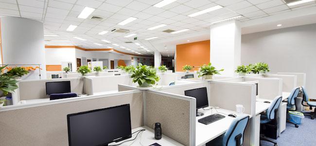 Osvetlenie kancelárskych priestorov