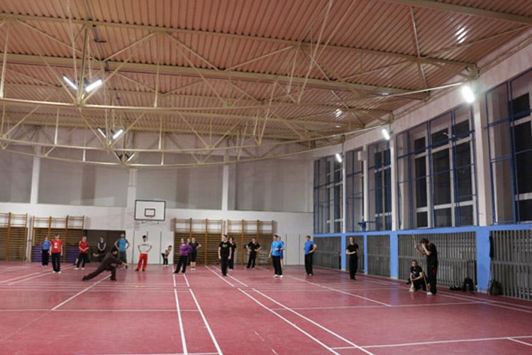 LED osvetlenie pre športové haly