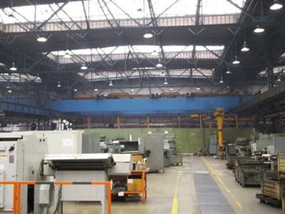 Úspora v osvetlení pre výrobné haly